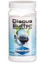 bottle of seachem discus buffer